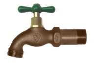 """The Arrowhead Brass 202LF standard hose bib with shank series has a 3/4"""" Male Iron Pipe (MIP) thread connection with Shank."""