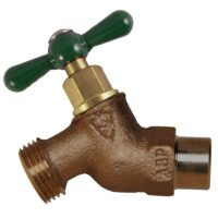 "The Arrowhead Brass 252LF no-kink hose bib series has a 1/2"" copper sweat connection."