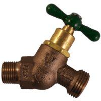 "The Arrowhead Brass Arrow-Breaker® 261LF hose bib has a ½"" Male Iron Pipe (MIP) thread connection with built-in anti-siphon vacuum breaker technology."