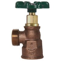 """The Arrowhead Brass 220LF boiler drain series has a ¾"""" Female Iron Pipe (FIP) connection."""