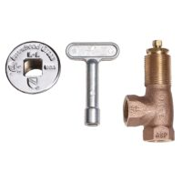 Arrowhead Brass 259 angle log lighter valve, kits, and accessories are made of high-quality bronze construction.