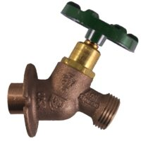 """The Arrowhead Brass Arrow-Breaker® 265SWLF sillcock has a ½"""" copper sweat connection with built-in anti-siphon vacuum breaker technology."""