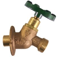 """The Arrowhead Brass Arrow-Breaker® 365SWLF sillcock has a ¾"""" copper sweat connection with built-in anti-siphon vacuum breaker technology."""