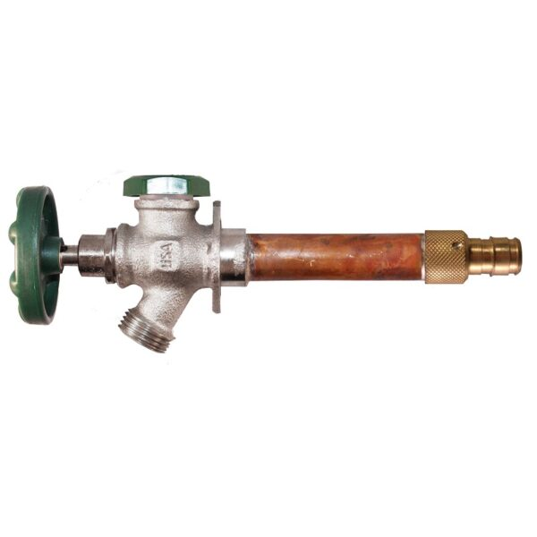 """The Arrowhead Brass 421LF series anti-siphon frost-proof hydrants have a ¾"""" Wirsbo inlet."""