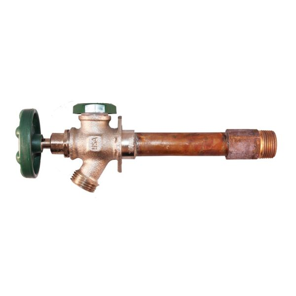 """The Arrowhead Brass 425LF series anti-siphon frost-proof hydrants have a ½"""" and ¾"""" MIP inlet."""
