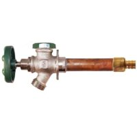 """The Arrowhead Brass 427LF series anti-siphon frost-proof hydrants have a ¾"""" PEX inlet."""