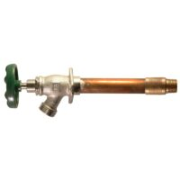 """The Arrowhead Brass 456LF series standard frost-proof hydrants have a ½"""" MIP and ½"""" copper sweat inlet."""