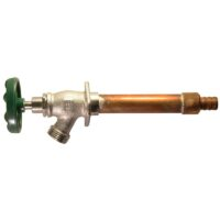 """The Arrowhead Brass 457LF standard frost-proof hydrants have a ¾"""" PEX inlet."""