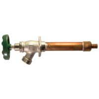 """The Arrowhead Brass 459LF series standard frost-proof hydrants have a ½"""" PEX inlet."""