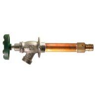 """The Arrowhead Brass 461LF series Arrow-Breaker® frost-proof hydrants have a ¾"""" Wirsbo inlet."""