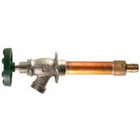 """The Arrowhead Brass 462LF series Arrow-Breaker® frost-proof hydrants have a ½"""" Wirsbo inlet."""