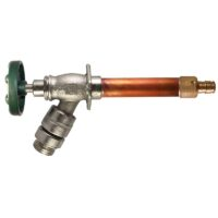 "The Arrowhead Brass 482LF series self-draining anti-siphon frost-proof hydrants have a ½"" Wirsbo inlet."