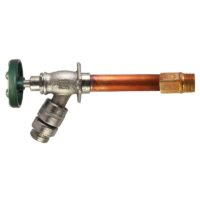 "The Arrowhead Brass 485LF series self-draining anti-siphon frost-proof hydrants have a ½"" and ¾"" MIP inlet."