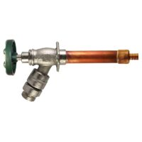"The Arrowhead Brass 489LF series self-draining anti-siphon frost-proof hydrants have a ½"" PEX inlet."