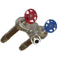 The Arrowhead Brass 490 series hot and cold self-draining frost-proof hydrants have a variety of inlets to meet your needs.