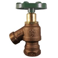 "The Arrowhead Brass Arrow-Breaker® 965LF garden valve has ½"" & ¾"" nested female iron pipe (FIP) thread connection with built-in anti-siphon vacuum breaker technology."