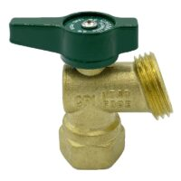 The Arrowhead Brass BD50F-QT boiler drains are made from high-quality lead-free brass and are for use in low-pressure potable water systems.