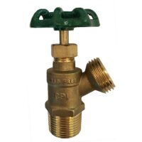 The Arrowhead Brass BD50M boiler drains are made from high-quality lead-free brass and are for use in low-pressure potable water systems.