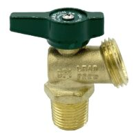 The Arrowhead Brass BD50M-QT boiler drains are made from high-quality lead-free brass and are for use in low-pressure potable water systems.
