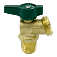 """Arrowhead Brass BD50M-QT boiler drains are made from high-quality lead-free brass and are for use in low-pressure potable water systems. The BD50M-QT has a ½"""" male iron pipe (MIP) connection."""