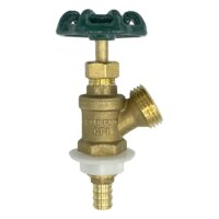 The Arrowhead Brass BD50X boiler drains are made from high-quality lead-free brass and are for use in low-pressure potable water systems.