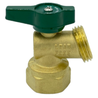 """Arrowhead Brass BD75F-QT boiler drains are made from high-quality lead-free brass and are for use in low-pressure potable water systems. The BD75F-QT has a ¾"""" female iron pipe (FIP) connection."""