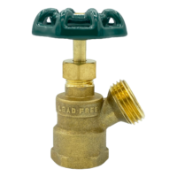 """Arrowhead Brass BD75F boiler drains are made from high-quality lead-free brass and are for use in low-pressure potable water systems. The BD75F has a ¾"""" female iron pipe (FIP) connection."""
