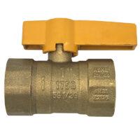 Arrowhead Brass GB100F Gas Ball Valve
