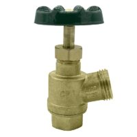 "The Arrowhead Brass GV50F-V garden valve is lead-free. The GV50F-V has a ½"" female iron pipe (FIP) inlet and inverted nose design."