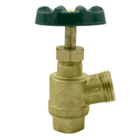 """The Arrowhead Brass GV50F-V garden valve is lead-free. The GV50F-V has a ½"""" female iron pipe (FIP) inlet and inverted nose design."""
