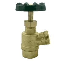 "The Arrowhead Brass GV75F-V garden valve is lead-free. The GV75F-V has a ¾"" female iron pipe (FIP) inlet and inverted nose design."