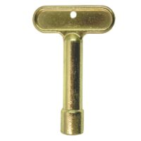 Arrowhead Brass PK1340 polished brass replacement log lighter key for Arrowhead Brass 258 and 259 log lighter kits.