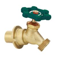 """The Arrowhead Brass SC50S sillcocks are made of heavy patterned lead-free brass and have a ½"""" or ¾"""" sweat inlet."""