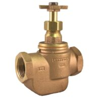 The Champion Irrigation 100 series brass manual straight valves are used to effectively regulate water supply with manual operation or easily convert to automatic with add-on actuators (CL or AA models).