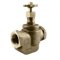 The Champion Irrigation 100RS series brass manual straight valves are used to effectively regulate water supply with manual operation or easily converts to automatic with add-on actuators (CL or AA models).