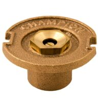 The Champion Irrigation 17 series brass flush sprinklers are made of durable brass construction. The 17 series comes in various sizes that include full-circle spray, half-circle spray, one-quarter circle spray, and three-quarter circle spray.