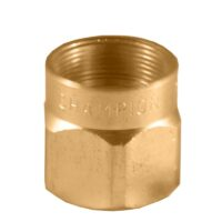 The Champion Irrigation 19 series brass shrub sprinkler bodies are made of durable brass construction.