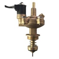 The Champion Irrigation AA series brass compact actuator provides automatic operation to anti-siphon and manual valves when connected to an irrigation time.