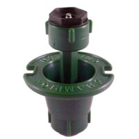 "The Champion Irrigation P18 plastic pop-up sprinkler body is made of impact-resistant ABS construction with ½"" female national pipe thread (NPT) inlet."