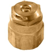 The Champion Irrigation S9 series brass shrub sprinklers are made of durable brass construction.