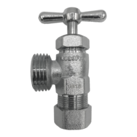 Arrowhead Brass WM50C washing machine valve is lead-free and compatible with a variety of piping.