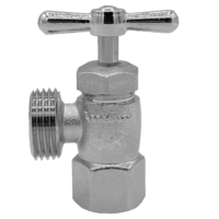 Arrowhead Brass WM50F washing machine valve is lead-free and compatible with a variety of piping.